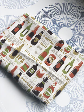 BEER Fabric  Cotton Craft Quilting Panel BEER Makes Everything Better