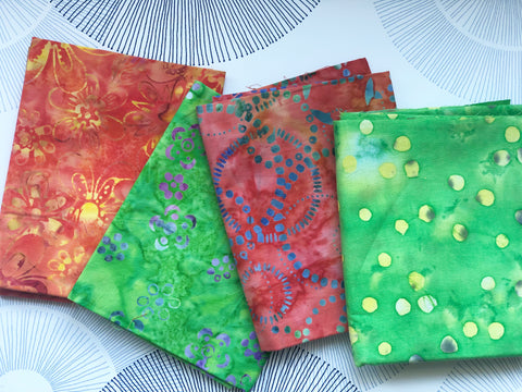 Cotton Face Mask with Filter Pocket - BATIK 5