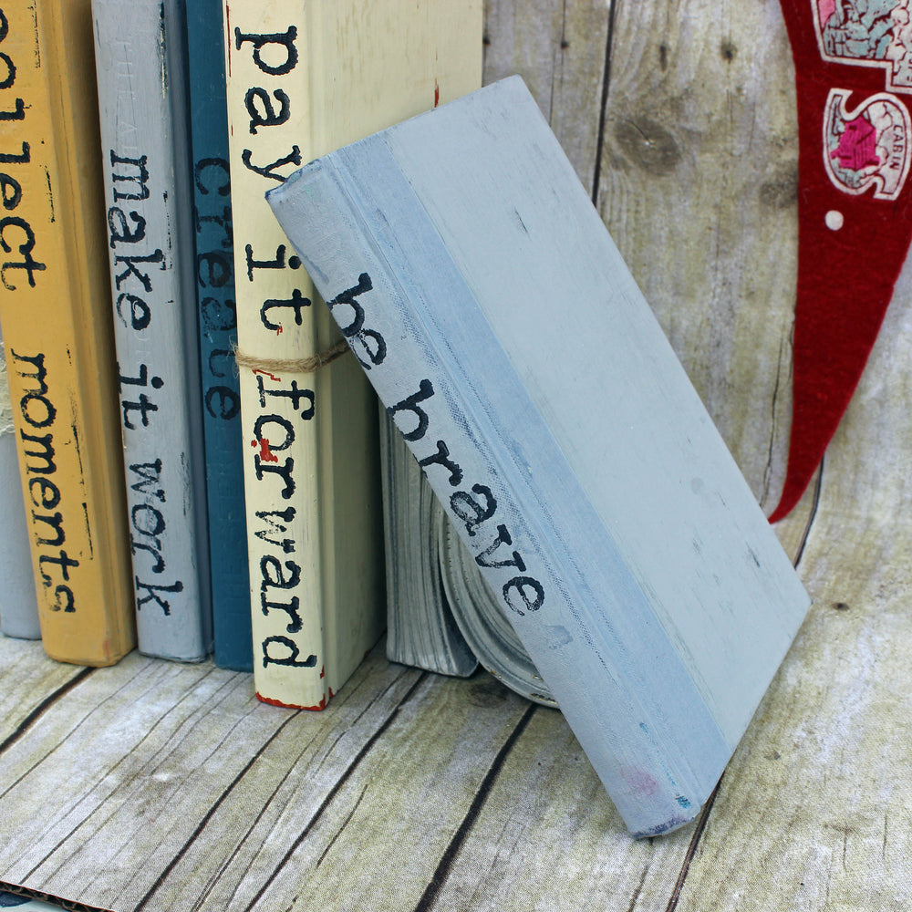 Be Brave Book Art - Pretty Clever Words