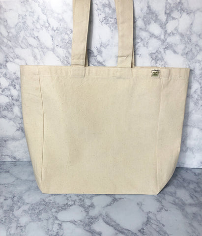 a custom canvas tote bag - Pretty Clever Words