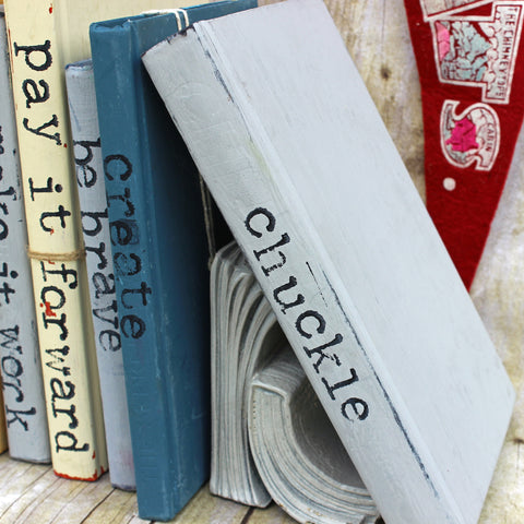 chuckle book art - Pretty Clever Words