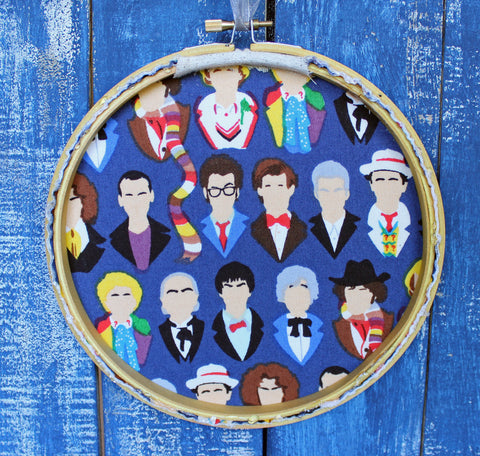 the Doctor's advice on the order of things - hoop art