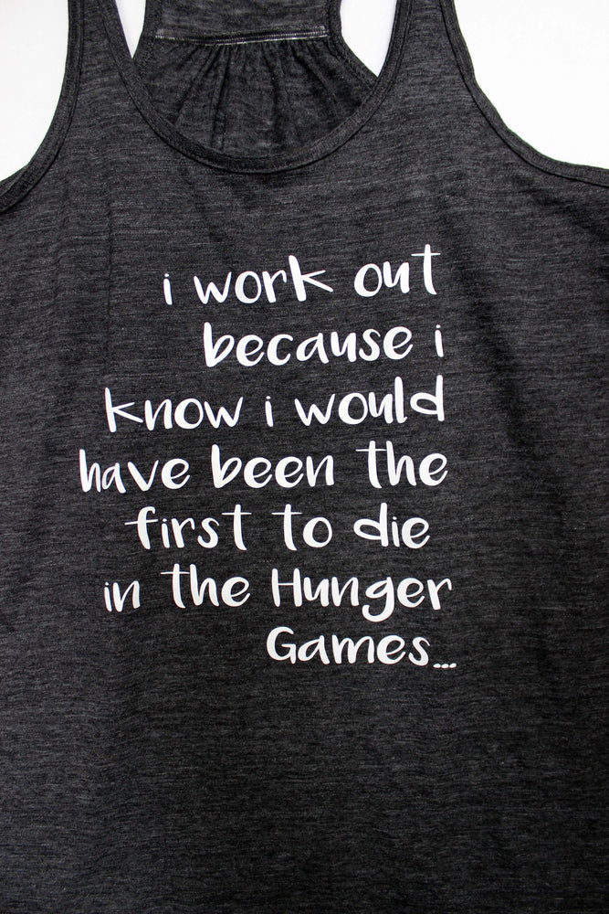 hunger games - tank and shirt