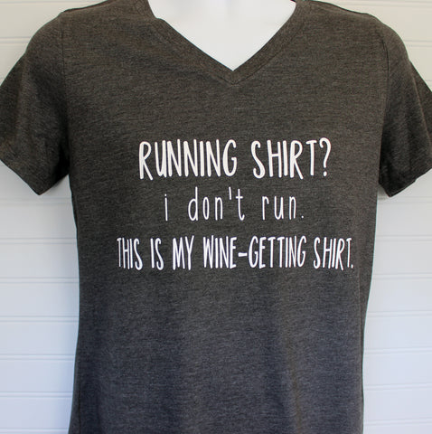 this is my i don't run shirt - tank and shirt