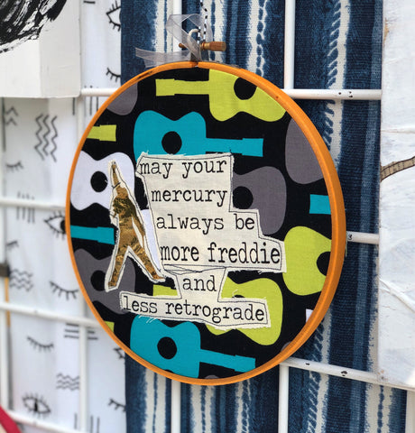 be more freddie hoop art