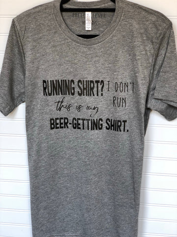 this is my beer-getting shirt  - men's shirt