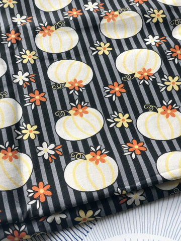 Cotton Face Mask with Filter Pocket - CHEERY PUMPKIN FABRIC