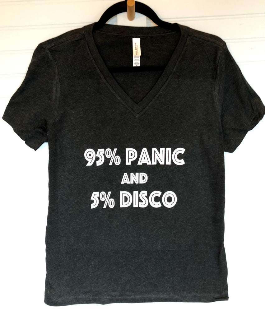 95% panic and 5% disco - tank and shirt