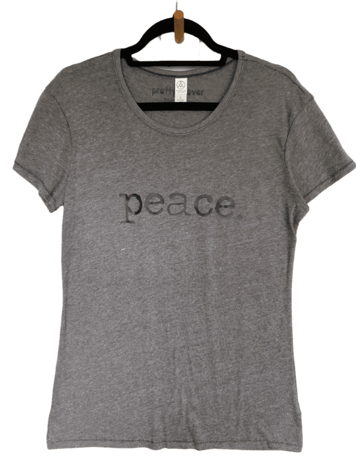 peace - women's shirt sample
