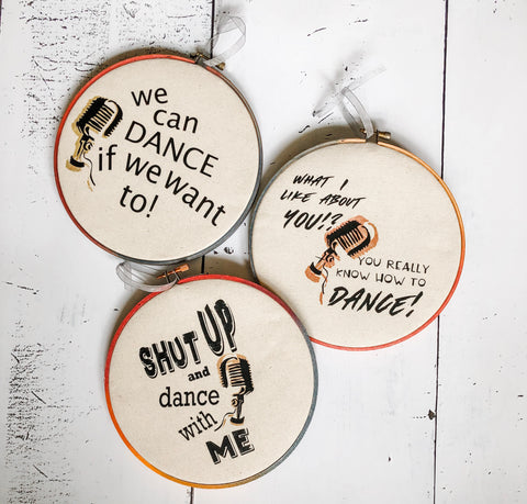 we can dance if we want to - hoop art