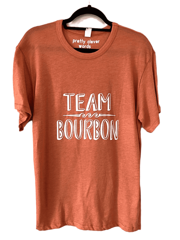 team bourbon shirt sample