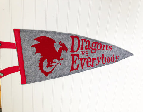 Thrones Collection - Vintage Style Pennants