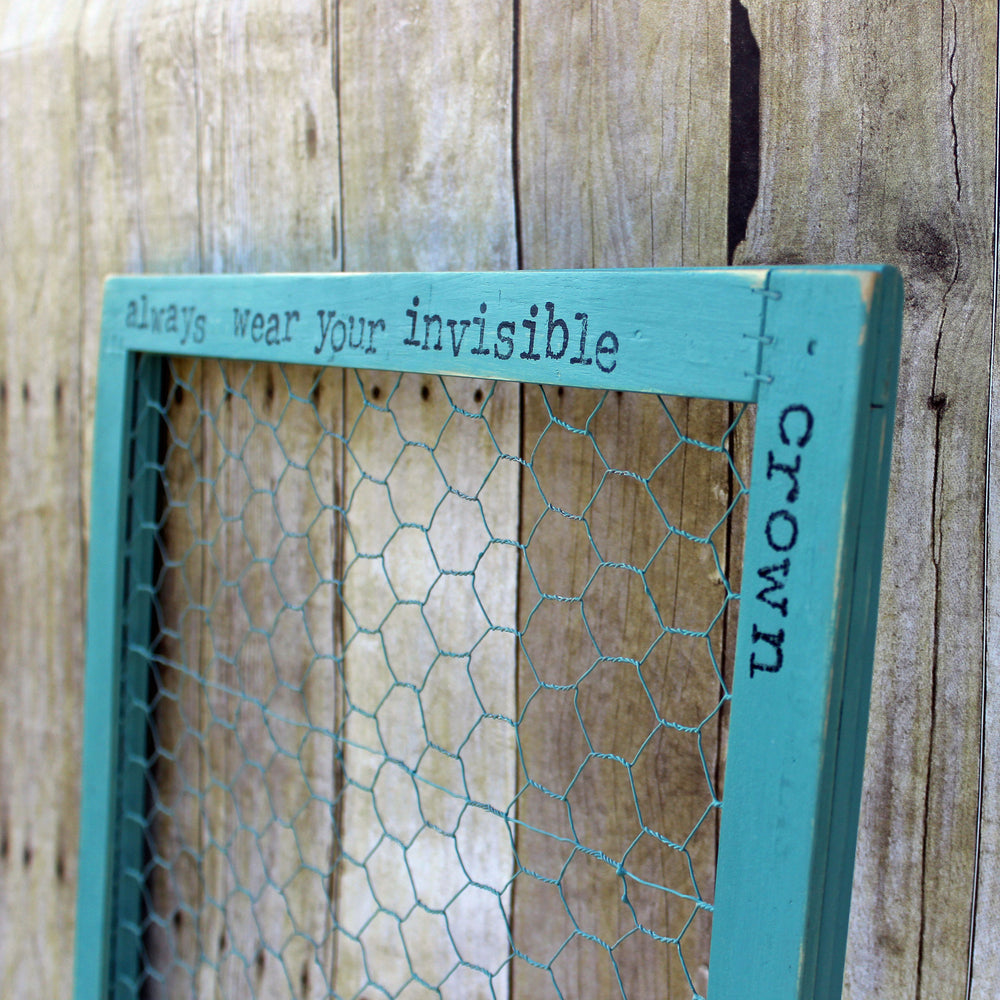 invisible crown chix wire frame