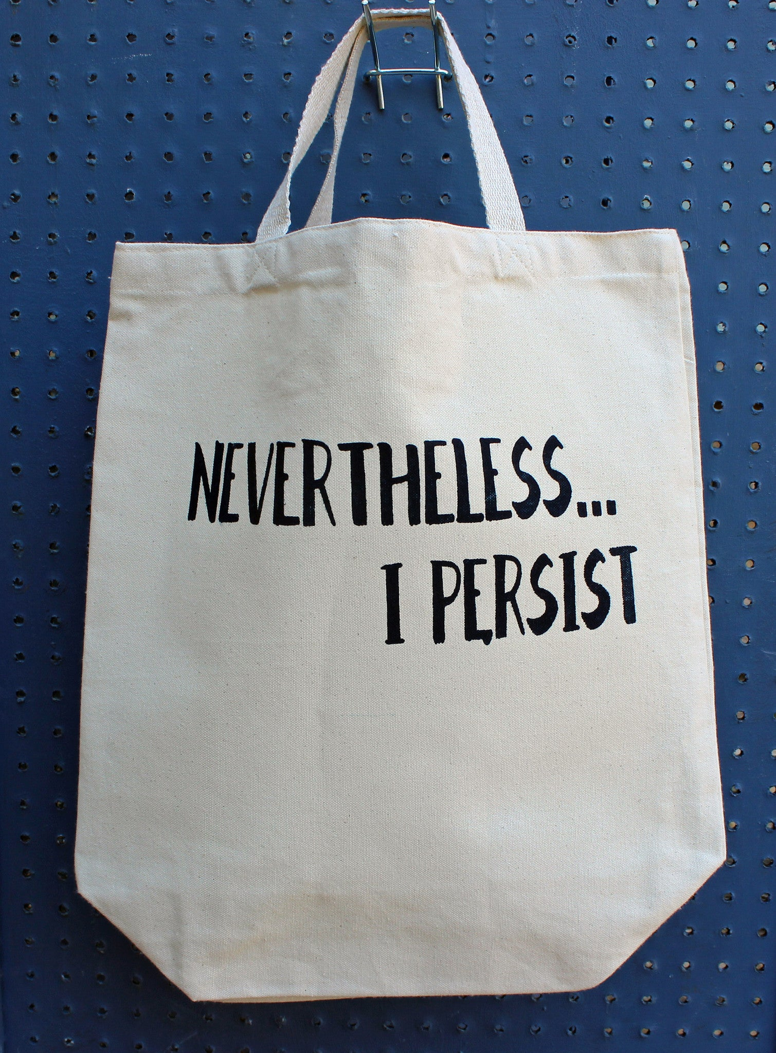 nevertheless...i persist - tote bag