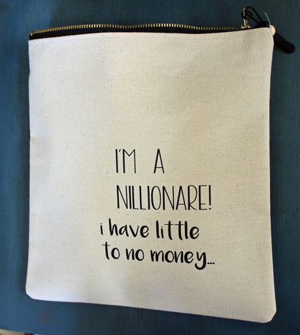 nillionaire - zip money bag
