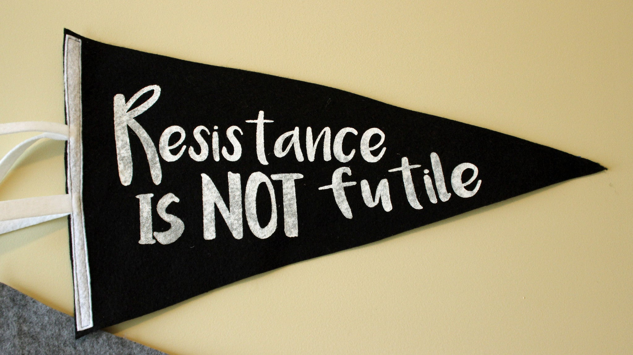 pennant art - Resist and Persist