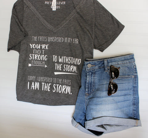 i am the storm - tank and shirt