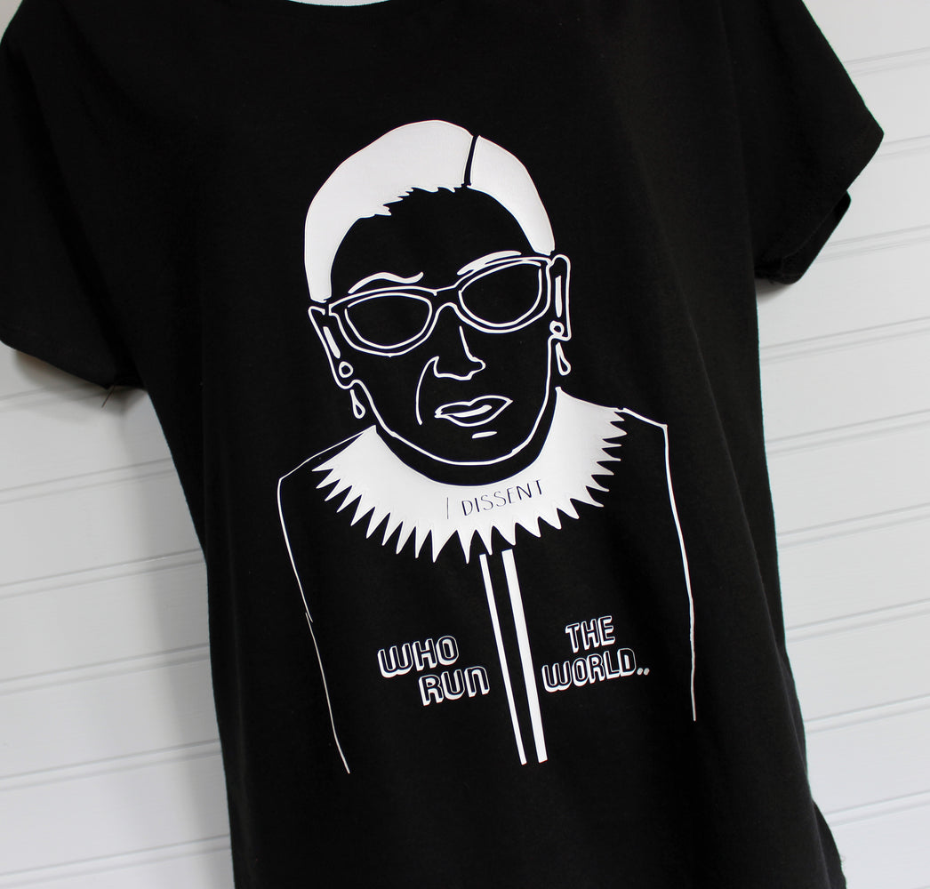 a true superhero - RBG tee shirt