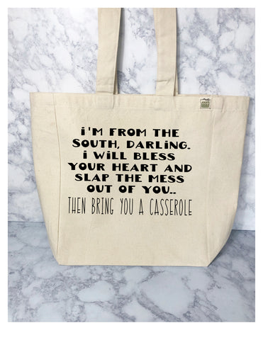 i'm from the south - tote bag