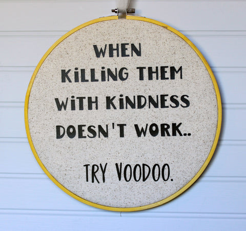 try voodoo hoop art