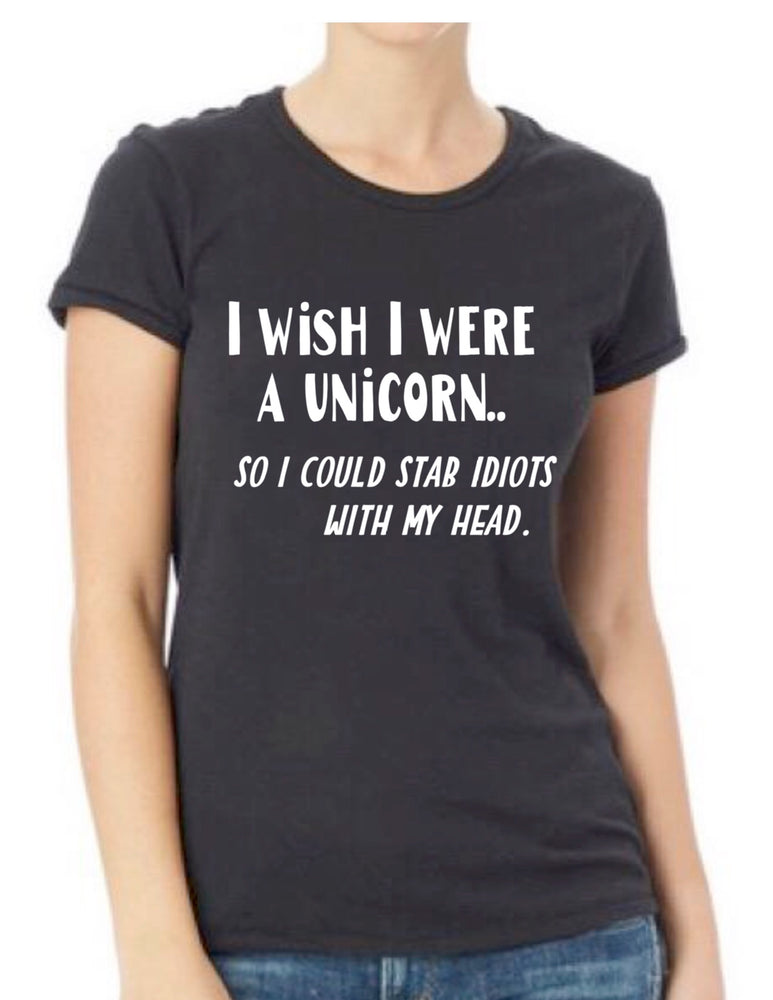 i wish i were a unicorn - tee shirt