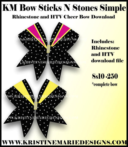 c495c5438a3 CHEER BOW DOWNLOADS – Page 7 – Kristine Marie Designs