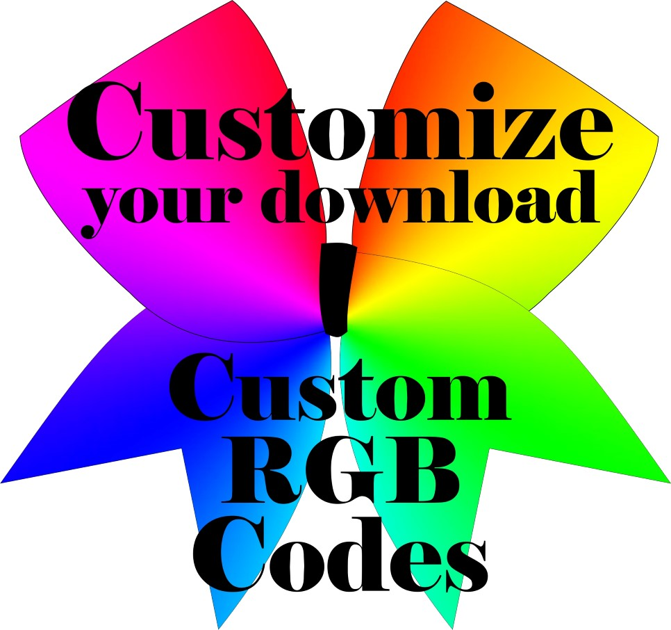 KM Custom Sublimation Color Selections Download