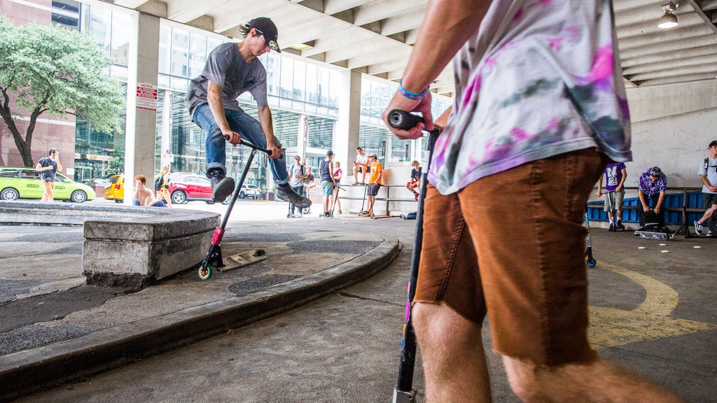 From Toy to Thrash: How Scooters Are Becoming Millennials' Extreme Sport of Choice