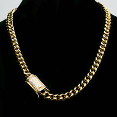 14K Cuban And Bracelet Combo Icey Clasp