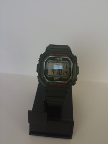 All Black Chronograph Alarm Casio Watch