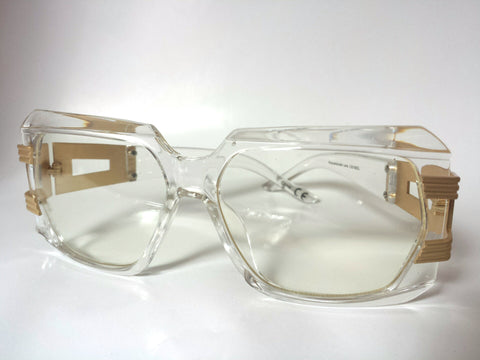 DatNew Stunna 1 Clear Lens Sunglasses