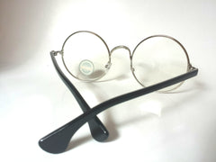 DatNew Large Round Rim Glasses