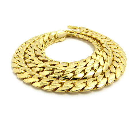 18k Gold Plated Thick Miami Cuban Link