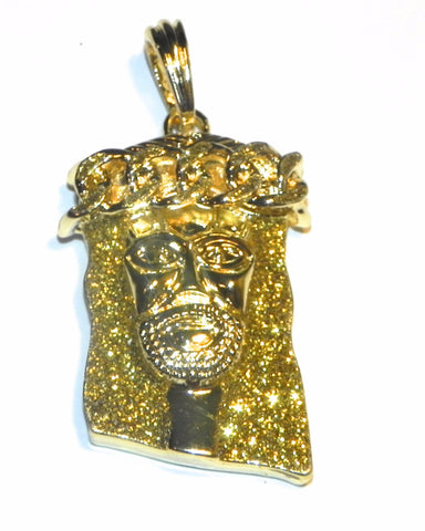 Yellow Dusted Jesus Piece