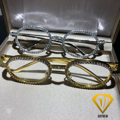 Iced Out DatNew Clear Lens Frames