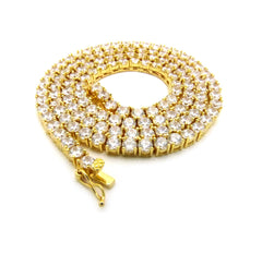 14k Gold Plated Tennis Chain