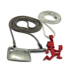 2 Chain Set: Axe Killer and Axe. On 24inch and 30inch Box Chains