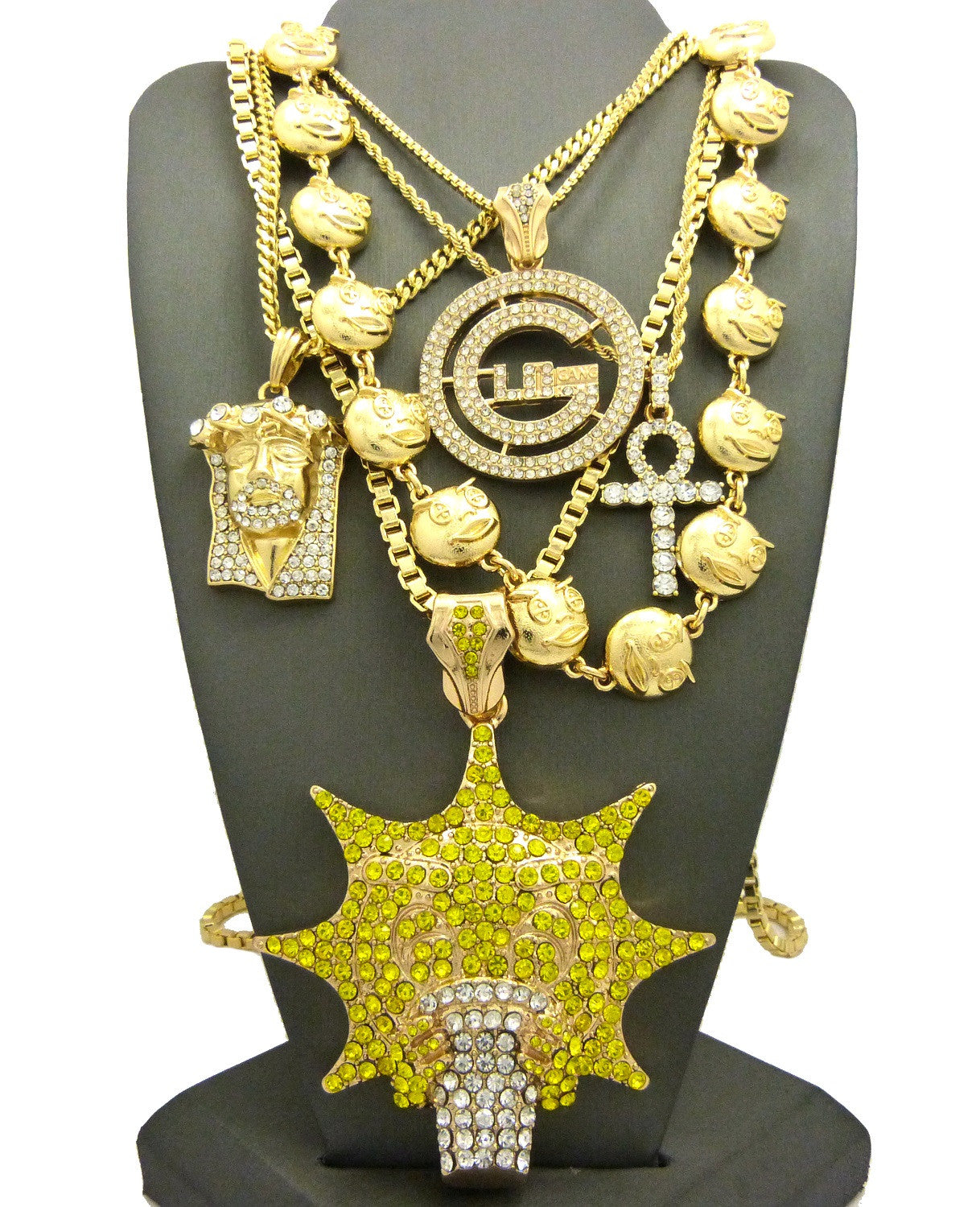 yellow filled chains price s cuban necklace from souq men en arabia saudi chain sa gold mens product