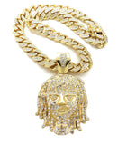 14K Iced Out Lil Pump Miami Cuban