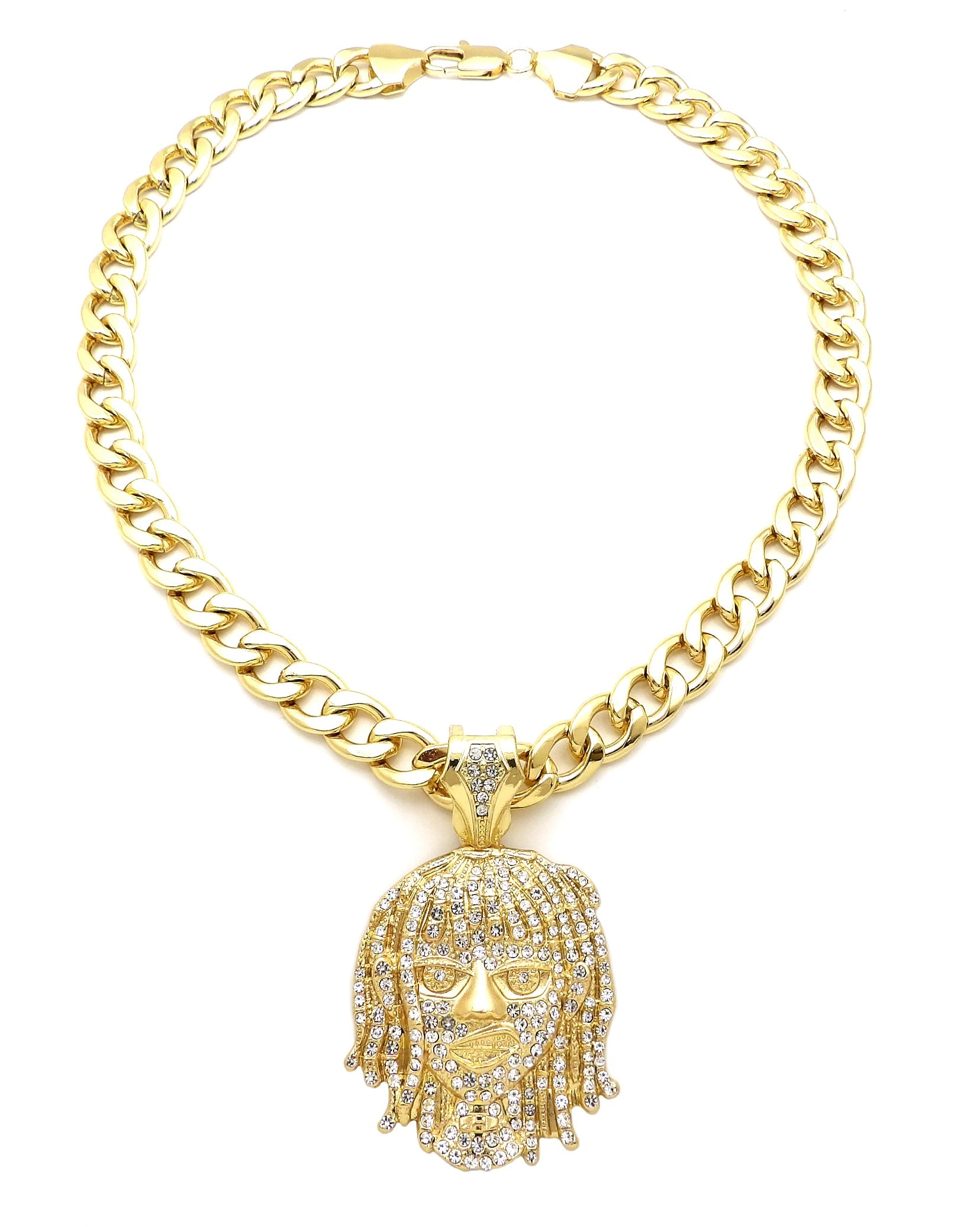 14K Iced Lil Pump Miami Cuban