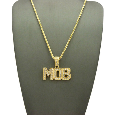 14kGold Plated Iced Out