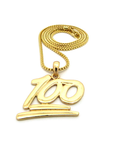 Keep it 100 pendant