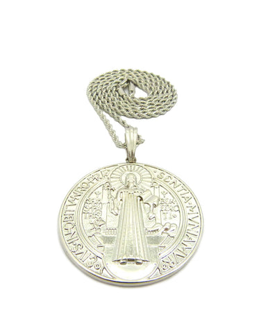 Virgin Mary Medallion Chain