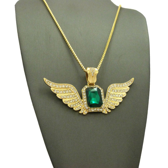 Green Gem Blended with Super Iced Angel Wings