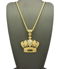 14k Gold Plated Kings Crown