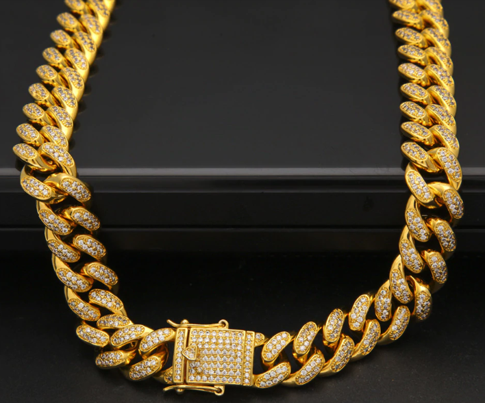 14K Icey High Quality Miami Cuban