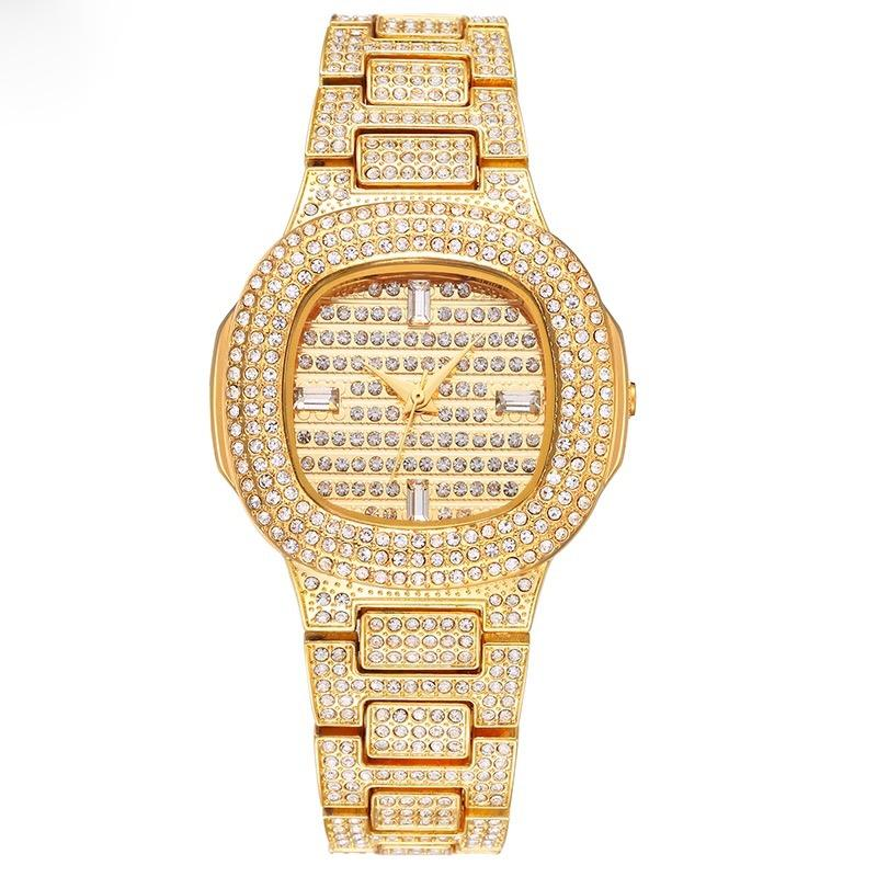 Icey 18K Gold Plated Drippy Watch Unisex