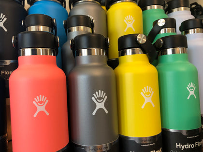 hydro flask insulated water bottles for keeping liquids cold or hot