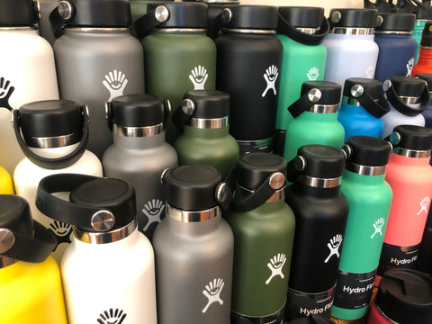 hydroflask insulated 18oz 24oz 32oz and 40oz water bottles