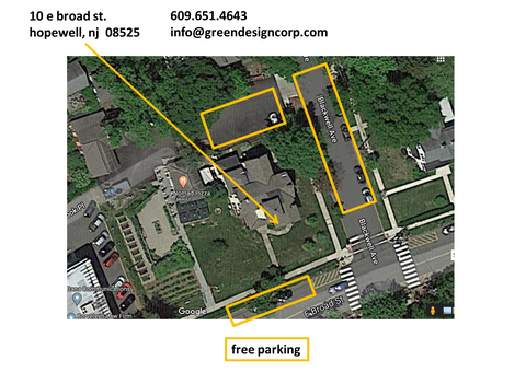 free parking at our e broad st, hopewell nj location